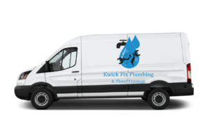 First Response Flood Damage & Plumbing Van
