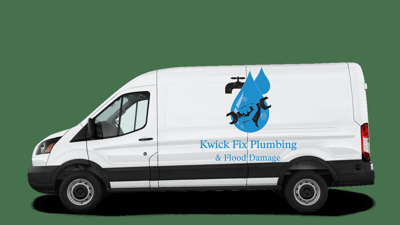 First Response Flood Damage & Plumbing Van