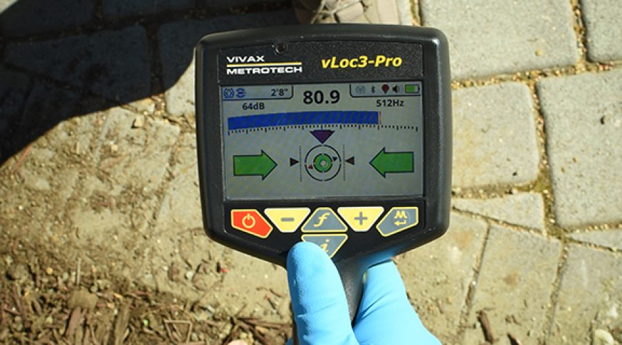 What tools do plumbers use to locate utilities? (vLoc3-Cam Sonde Locator)