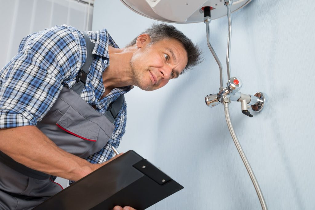 Plumber inspection