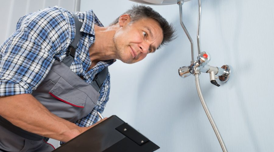 What happens during a plumbing inspection?