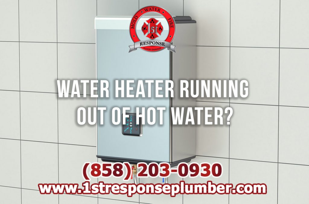 Water Heater Running Out of Water in Chula Vista