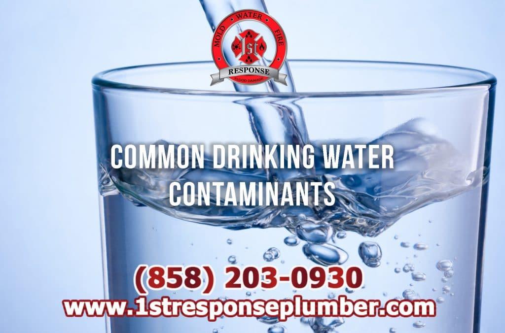 Common Drinking Water Contaminants in Chula Vista