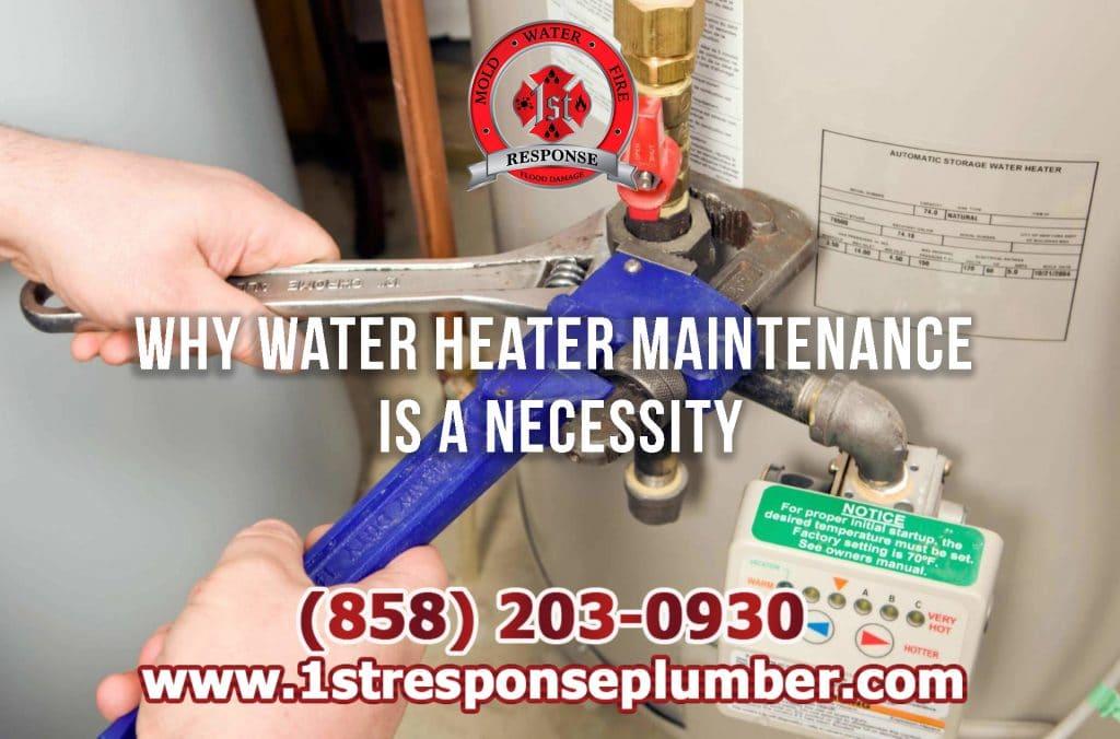 Water Heater Maintenance in Chula Vista