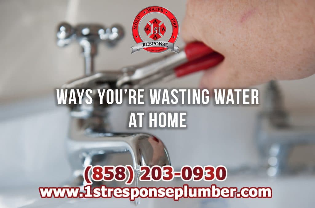 What are the Top Ways My Home Wastes Water in Chula Vista