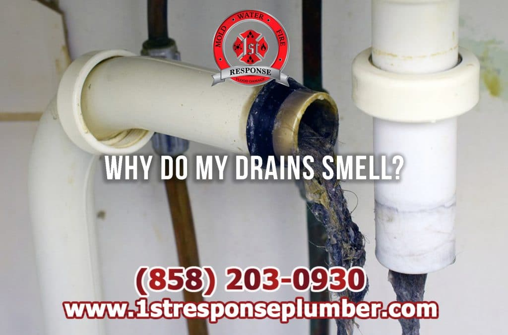 Why Do My Drains Smell Bad in Chula Vista